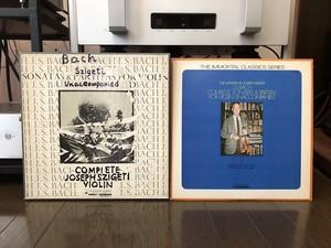 全5枚 シゲティ バッハ 無伴奏ヴァイオリンソナタとパルティータ