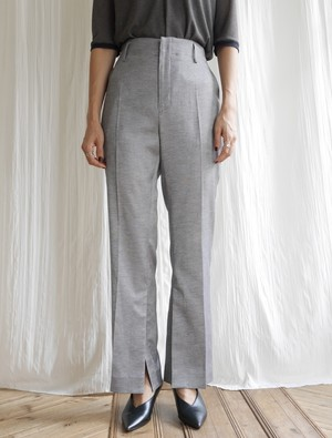 IROR : SEMIWIDE SLIT TROUSERS