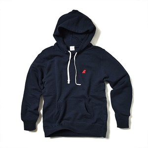 PULLOVER PARKA / RED FIN / DEEP NAVY