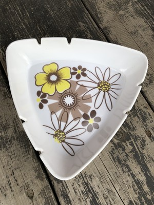VINTAGE ASHTRAY Flower 灰皿 小物入れ