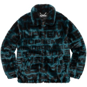 Supreme Faux Fur Repeater Bomber Jacket