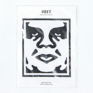 【OBEY】ESSENTIALS EMBROIDERED PATCHES [GIANT FACE]