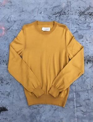 Maison Martin Margiela / mustard color knit
