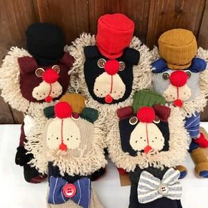 らいおっさん GOROHON(ゴロホン)さんの手作り手袋人形