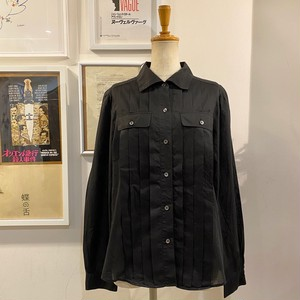 SONIA RYKIEL pleats design shirt