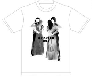 U.F.O.CLUB22周年記念オリジナルTシャツ/ホワイト
