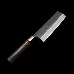 菜切包丁(白二鋼・黒打ち)