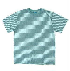Good On / グッドオン | S/S BORDER TEE - G.Green/White