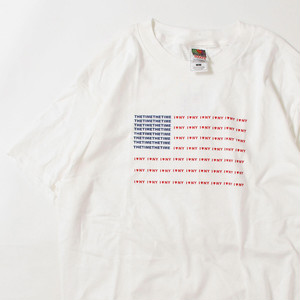 【Lサイズ】 THE TIME I LOVE NY TEE 半袖Tシャツ WHITE L 400601191083