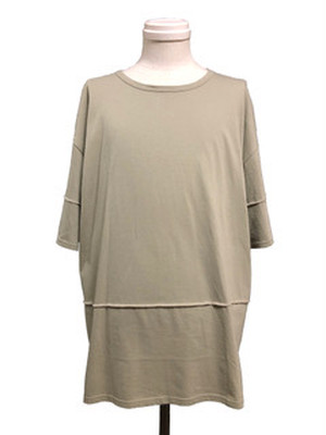 SPLICE SHORT SLEEVES -LIGHT OLIVE-