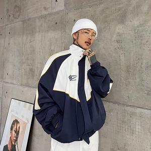 ★UNISEX レトロスポーティーナイロンジャケット 21800