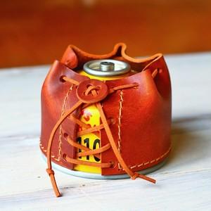 ODガス缶110G レザーカバー ブラウン