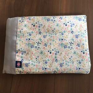予約(5/10頃発送)WA wrap /  ピンク・水色・グレー小花