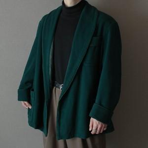 gown coat -mode dark green-