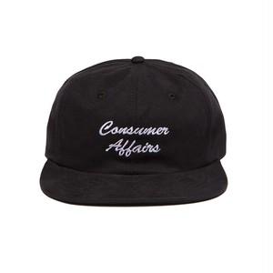 ALLTIMERS (オールタイマーズ) / CONSUMER AFFAIRS HAT -BLACK-