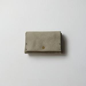 bellowsfold wallet - gray - ALASKA