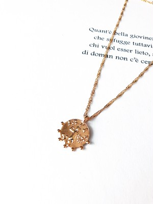 Coin pendant necklace Ⅱ (コイン ペンダントネックレス 2)