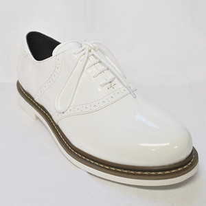 【Reguler Line】SADDLE SHOES GR-KI2533 ALL WHITE