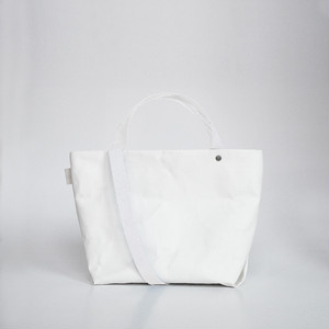 【N/no × E/zel.】SOME WAY LIGHT TOTE BAG (S+)_PP/WHITE
