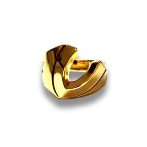 【送料無料】Gradient horse Shoe Ring Gold by Sorpresa Collection【品番 17A2003】