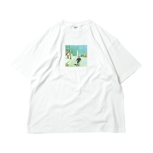 TIGHTBOOTH GO TO HEVEN WHITE タイトブース Tシャツ L