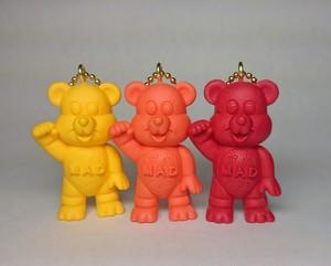 MAD Bear key chain  autumn colour