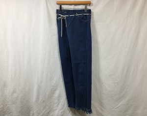 "MAISON EUREKA "" VINTAGE REWORK BIGGY PANTS BLUE "" F"