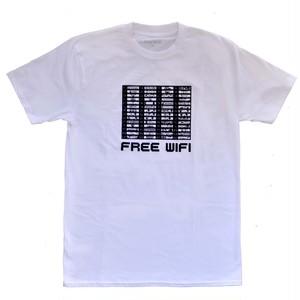 FREE WIFI / WALLAPAPER 3310 TEE -WHITE-