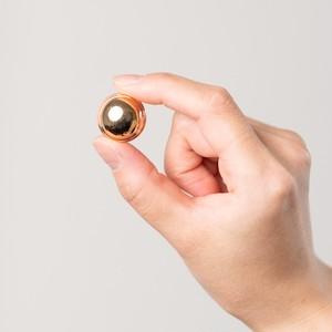 ゴールドシンプルデザインボタンS