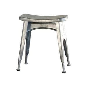 【112-281GV】Kitchen stool [Color:Galvanized] #キッチンスツール #ヴィンテージ #アメリカン