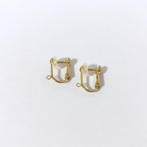K18YG Earring Parts / 交換