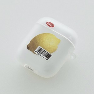 【t.e.a】Lemon / airpods 1/2 エアポッズ エアーポッズ 第1世代 第2世代 ケース カバー レモン 韓国雑貨