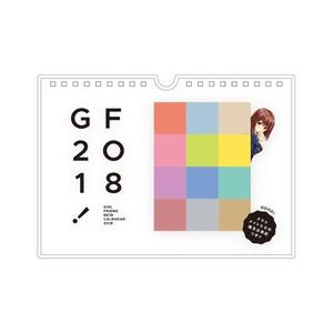 【GF】マドンナ選抜総選挙2017 TOP12ガール 2018年卓上カレンダー
