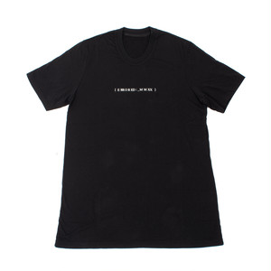 707CPM1-BLACK / アバランチバックプリントTシャツ