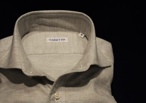 CADETTO ORIGINALS SHIRTS Micro Herringbone
