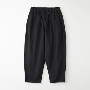 MOLESKIN FULL-LENGTH SAROUEL PANTS - NAVY