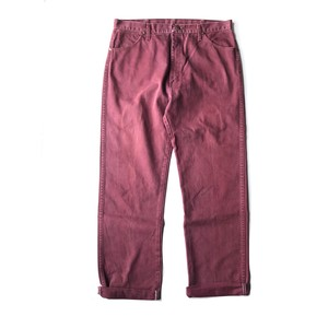 USED 90's Wrangler color denim - burgundy