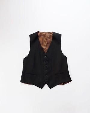 Itali black suits vest