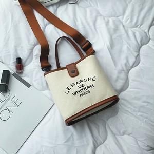【バッグ】ファッション帆布新作合わせやすいカジュアルショルダーバッグ