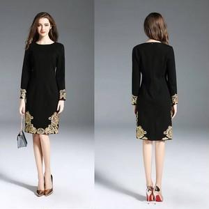 パーティードレス 結婚式 二次会 お呼ばれ ワンピース 袖あり お呼ばれドレス ドレス 20代 30代 40代 長袖 大きいサイズ