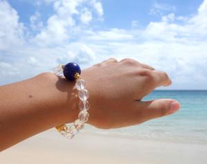 Shine of Lapis lazuli bracelet