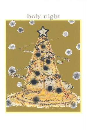 クリスマス ツリー ポストカード No.0079