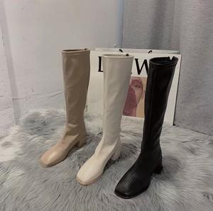 pu color boots 3color