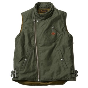 MIL VEST(OD) / RUDE GALLERY BLACK REBEL