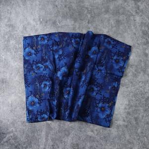 70's Vintage Fabric 70年代 ヴィンテージ ファブリック 生地 アロハ 手芸 古着 A526