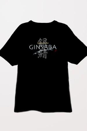 GINSABA Tシャツ・背(ブラック)