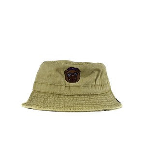 BB BEAR BUCKET HAT / KHAKI