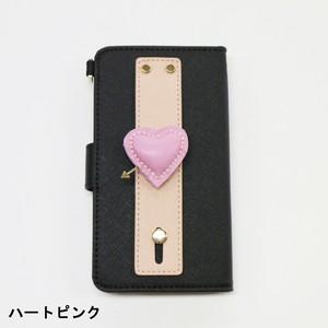 【受注生産】DEMODEE グリップ付きカスタムスマホケース PINK
