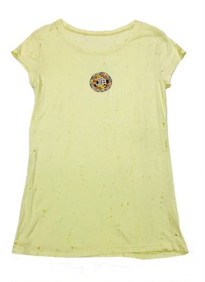 【JTB】 COLORE LOGO Tシャツ【クリーム】【新作】イタリアンウェア【送料無料】《M&W》