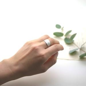 Eucalyptus レモンユーカリ フリーリング(silver)/ YUKIKO MATSUI